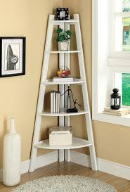 Furniture Of America Ladder Shelf In White-Ac6214Wh for $171. Corner  Shelving UnitLadder ShelvesDisplay ...