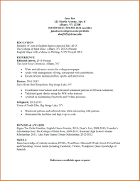 Internship Resume Sample For College Students Pdf resume It Internship Resume Sample 57