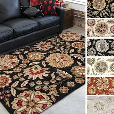 fl wool hooked rugs hand tufted lily pad area rug on free