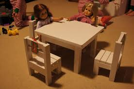 barbie doll furniture plans. Claras Table And $4 Stackable Chairs Sized For 18\ Barbie Doll Furniture Plans A