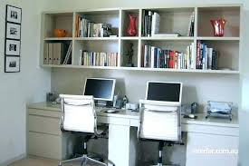 built in home office furniture. Custom Home Office Desks Built In Furniture Desk With Above .