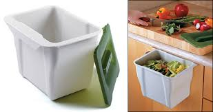 countertop collection bin lee valley tools for waste ideas 45
