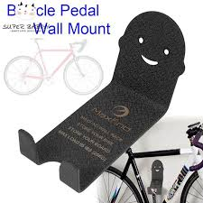 sby bike wall mount storage holder metal stand bicycle cycling pedal hanger stand