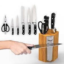Kitchen Knife Storage Amazoncom Knife Blocks Storage Home Kitchen Knife Cases