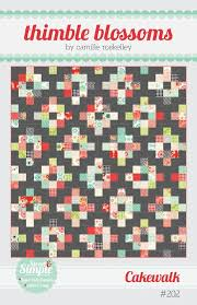 Best 25+ Quilt material ideas on Pinterest | Quit baby, Rag quilt ... & Cake Walk by Camille Roskelley of Thimble Blossoms Adamdwight.com