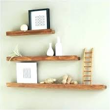 reclaimed floating shelves thick wood marvellous deep picture ledge landscape shelf oak ireland sh
