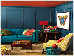 Orange And Blue Living Room Butterfly Image Marvelous Teal And Orange Living Room Scheme Blue