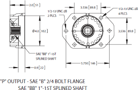 cs6 cs8 series power take off 2 output din120 comp flange ·