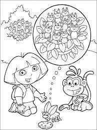 Dora De Explorer Kleurplaat Printen 169