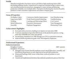 Manufacturing Resume Templates Gorgeous Awesome Collection Of Manufacturing Resume Templates Free Marvelous