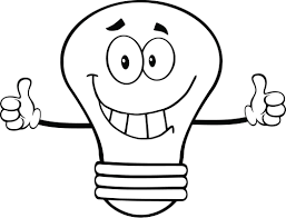 Light Bulb Coloring Page On This Page We Offer The Best And Newest Selection Of