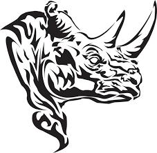 Black Rhino Design 25 Wonderful Rhino Tattoos Designs