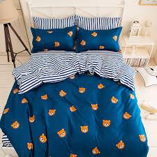Small Picture Aliexpresscom Buy Cartoon Bear Duvet Cover Home Decor Bedding