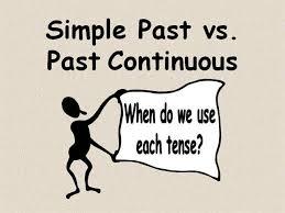 Rezultat iskanja slik za past continuous vs past simple