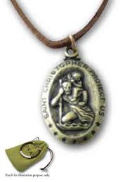 gatto co necklace gold st christopher