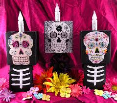 day of the dead faces