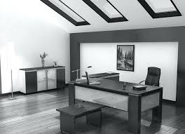 Large white office desk Custom Build In Black Navenbyarchgporg Black Office Table Black Modern Desk Large Black Glass Office Desk