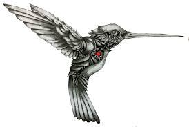 эскизы тату колибри татуировки на Toptattooru
