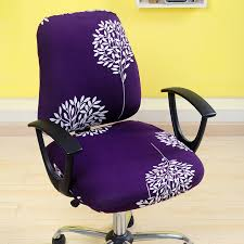 office chair covers. Perfect Covers Removable Chair Cover Elastic Office Computer Covers Flower Printed  Stretch Rotating Lift Seat Covering Slipcover And