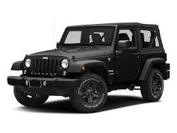 2018 black clearcoat jeep wrangler jk sport s 4x4 2 door suv regular unleaded v