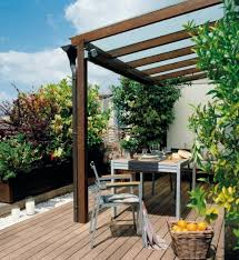 garden canopy. Garden Ideas Canopy Furniture Wood Floor Gravel Plant