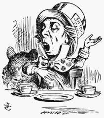 Image result for mad hatter in alice in wonderland