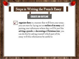 how to write french essay 29 organise