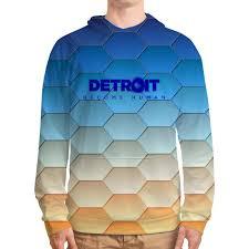<b>Толстовка с полной</b> запечаткой Detroit #2991879 от ZoZo по цене ...