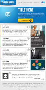 Clean Business Email Newsletter Template by ilyasnone | GraphicRiver