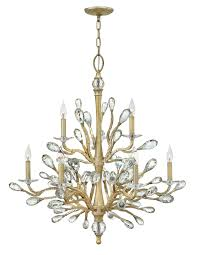 nature inspired lighting. The Timeless Crystal Chandelier Takes A Turn To Organic In Six-light \ Nature Inspired Lighting E