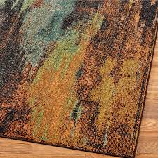 abstract area rugs oxidation multicolored bathroom allen roth under wool modern stain resistant country surya houston