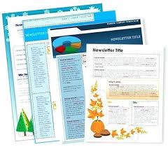 Free Templates For Publisher Free Templates For Newsletters Funeral Program Microsoft
