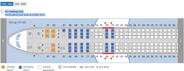 Boeing 737 900 United Airlines Seating Chart 18 Studious Seat Assignment Chart Boeing 737 900