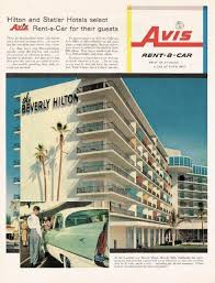 Vintage Vault — 1957 Avis Rent-a-Car advertisement and the ...