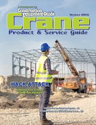 Crane Guide Winter 2019 By Construction Equipment Guide Issuu
