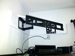 Corner Tv Mounts With Shelves Unique Beautiful Corner Tv Wall Mount With Shelf 32 Mounts Shelves Design