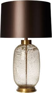 zoffany amelia antique glass table lamp large