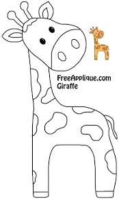592 best Sewing-Applique and Embroidery images on Pinterest | Dish ... & Giraffe Pattern More Más Adamdwight.com
