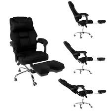 office reclining chair. Merax High-Back Executive Mesh Office Chair For Reclining And Napping With Footrest Back