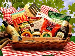 barbecue gift basket bbq grilling gift filled with bbq friendly foods