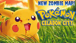IS THIS THE BEST POKEMON ZOMBIE MAP? - Pokemon: Celadon City