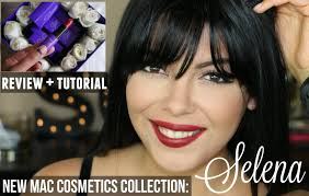 selena mac cosmetics makeup collection review tutorial sccastaneda you