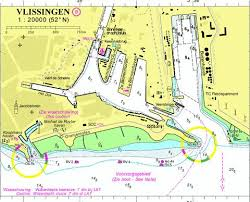 Nautical Charts Netherlands 18032b Vlissingen Marine Chart Nl_18032b Nautical