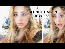 john frieda in shower lightening treatment for blonde hair review you