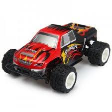 <b>Радиоуправляемая</b> модель <b>Монстра WLtoys</b> A212 4WD RTR 1:24 ...