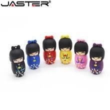 JASTER 64GB cartoon mini cute Japanese dollusb <b>flash drive usb</b> ...