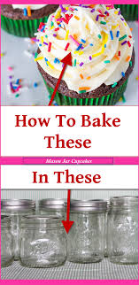 Decorative Mason Jars For Sale Mason Jar Cupcakes Easy DIY Cupcakes And Cake In A Jar Recipes 85