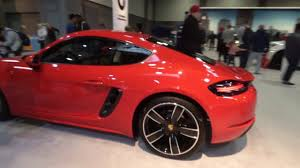 2018 porsche 718 cayman. fine porsche porsche 2018 718 cayman model washington dc auto show 2017 on porsche cayman m