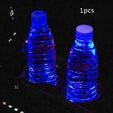 Car Atmosphere Light Price Hot Price 6d3d6 Car Led Light Coaster Colorful Water