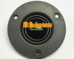 """<b>2pcs</b> 3"""" inch 74MM 4Ω/8Ω <b>15W</b> panel tweeter <b>dome</b> silk film ..."""